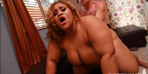 Lovely Latina SSBBW Ashley Heart First Hardcore Fuck