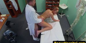 Amateur euro patient pounded from behind