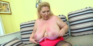 EuropeMaturE Jana Tvrda Czech Mature Star Solo