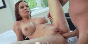 PUREMATURE Anal POUNDING with busty tight booty MILF