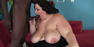 Bbw on cock