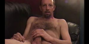 Mature Amateur John Jerking Off