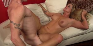 MILF Holly Heart loves to lick man ass and suck hard cock