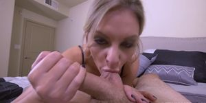 Stepson lets Kenzie Taylor ride his rod like a cowgirl