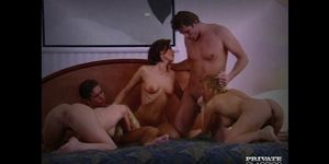 Private Orgy with Janet Raquel and Nicole