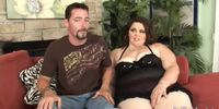 BBW Sexy Angie Luv wraps her fat pussy around a dick