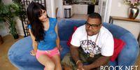 Hot interracial sex scene