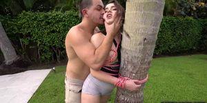 Boyfriend fucks Kylie Quinns pussy hard as he can Porn Videos