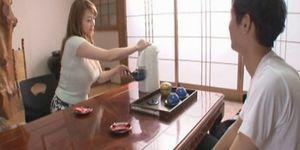 Japanese mom bathhouse