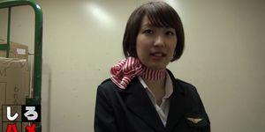 HD UNCENSORED JAV JAPANESE Hostess Gangon Board, Enjoy your Flight!