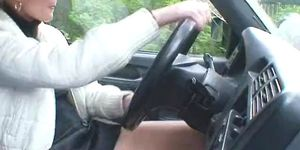 Senior gay sex porn - Marcella fisting and driving