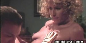Debi Diamond and Rebecca Bardoux - Wild Four Some Retro Sex