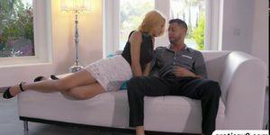Cece Capella fucks a horny dude Porn Videos