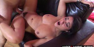 Big tits and Booty Latina Loud Moaning