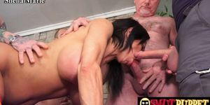 Mature Cumsluts Getting Gangbanged Compilation Part 2