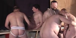 Yummy twinks fucking on a bed