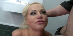 Brazzers - Milfs Like it Big - Revenge on a Gold Digging Slut scene starring Nikita Von James and Jordan Ash