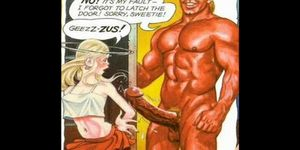 Comics: Skinny Horny Girl Loves Cock