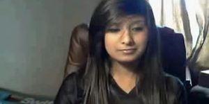 Pakistani Beauty Teen girl on cam with me