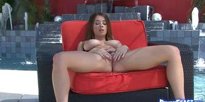 Gorgeous angel teasing with big tits and pussy