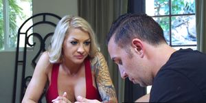 Brazzers - Milfs Like it Big - Sister in Law Means Well scene starring Synthia Fixx and Keiran Lee
