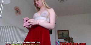 Perfecto TGirl Visceratio en la webcam Parte 5