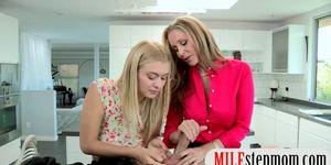 Natalia Starr and Julia Ann amazing threesome session Porn Videos
