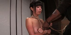 Asian submissive tormented with shibari Porn Videos