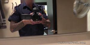 Busty in pantyhose fucking fake cop Porn Videos