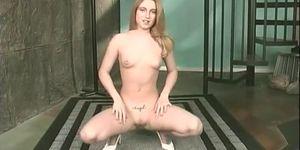 Blonde Girl Gets Naked