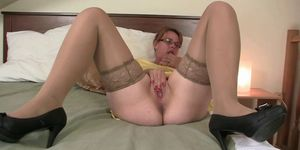 Her horny old snatch needs fresh young cock