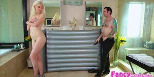 Tommy Pistol cum inside Chloe Cherrys wet tight pussy
