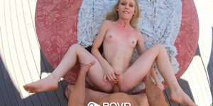 POVD Car Wash Outdoor Dripping Creampie