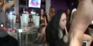 Strippers Get Sucked By Wild Girls