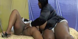 Lesbian BBBW 11 - scene 3