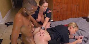 Big Titty White Female Cops Slammed Doggystyle By Black Dude