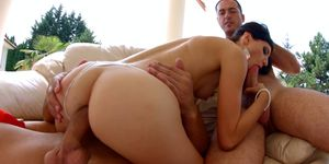Creampie gonzo scene with Lina Arian from All Internal