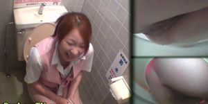 Uniformed asians piss