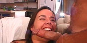 Cute couple films their own homemade porn