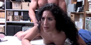 Gorgeous Liv Revamped gets her tight pussy penetrated hard by horny Officer