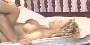 Blonde ready to burst out in orgasm