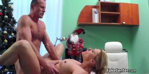 Doctor as santa fucked his patient
