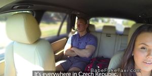 Hot Czech fake taxi driver bangs muscled customer Porn Videos