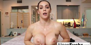 Alison Tyler Masturbates for you