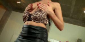 ELEGANT RAW - Interracial loving euro babe takes BBC