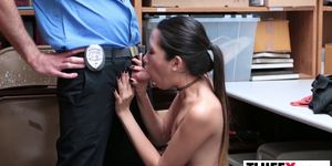 Asian Thief Jade Noir Gets Punished