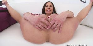 Kendra Lust turns around to ride big fat cock in POV