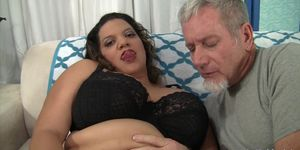 Thick and sexy BBW Lady Spice rides a fat dick Porn Videos