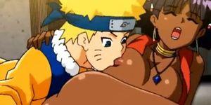 Naruto porn sex with the mulatto