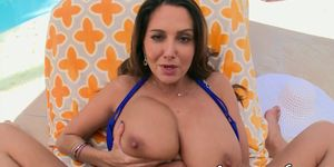 Glamcore MILF massaged and pussyfucked POV